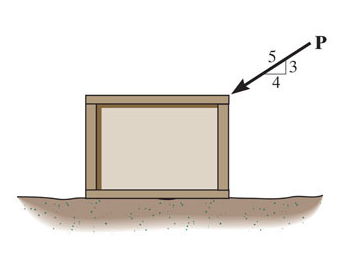 Draw A Free-body Diagram Of The Crate. (Figure 1) ... | Chegg.com