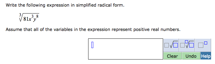 Write The Following Expression In Simplified Radic... | Chegg.com