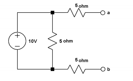 Thevenize the following circuit&nbs