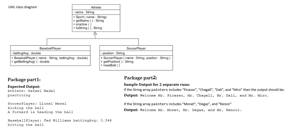 Solved java code issues the uml diagram has an err expert answer ccuart Gallery