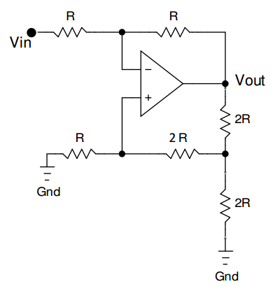 The Op Amp has a 2.5mV&nb