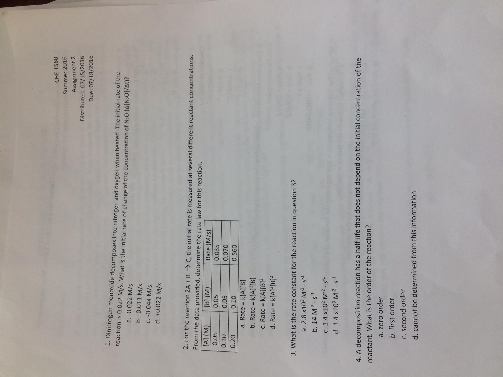 i need someone to do my chemistry homework
