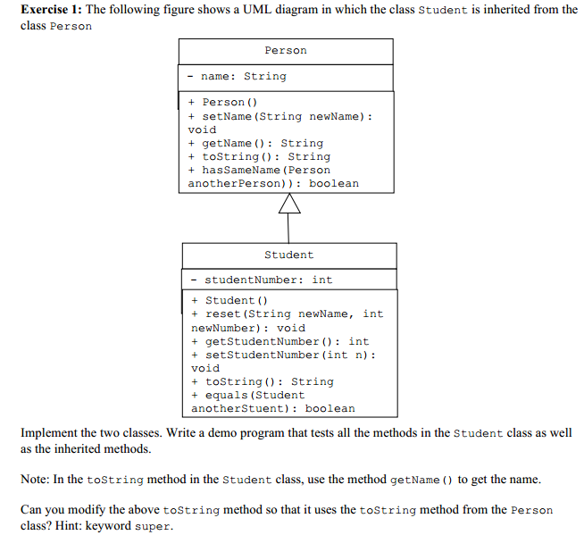 Solved exercise 1 the following figure shows a uml diagr image for exercise 1 the following figure shows a uml diagram in which the class ccuart Gallery