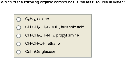 what is an organic compound