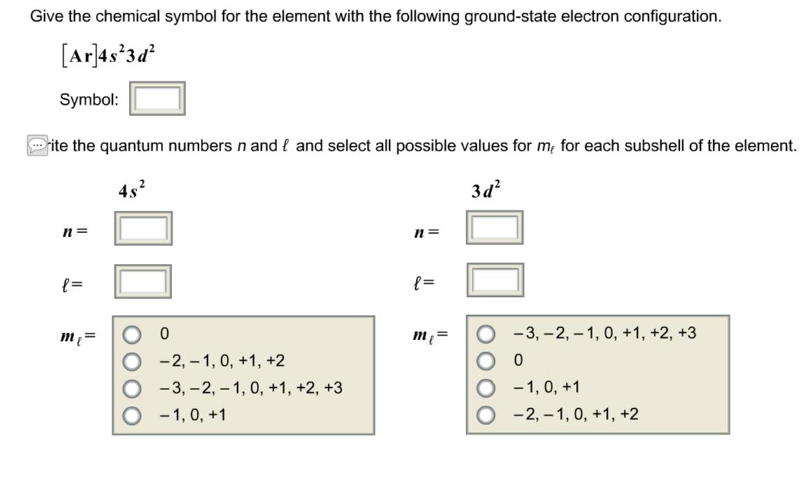 Solved 1rank these elements according to atomic radius expert answer buycottarizona Choice Image