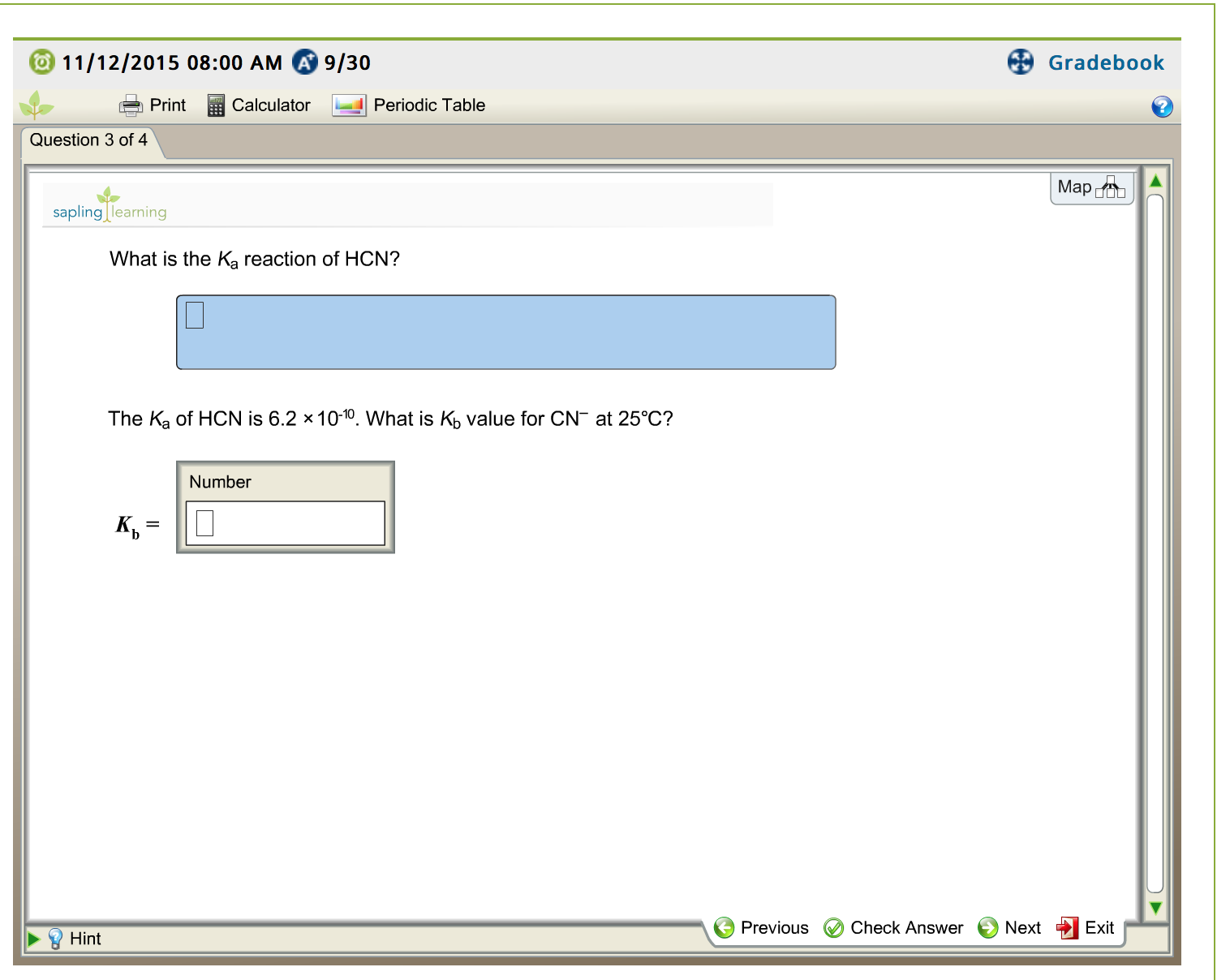 What is the ka reaction of hcn the ka of hcn is 6 chegg expert answer gamestrikefo Image collections
