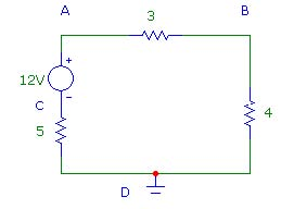 Having trouble figuring how to find voltage at e