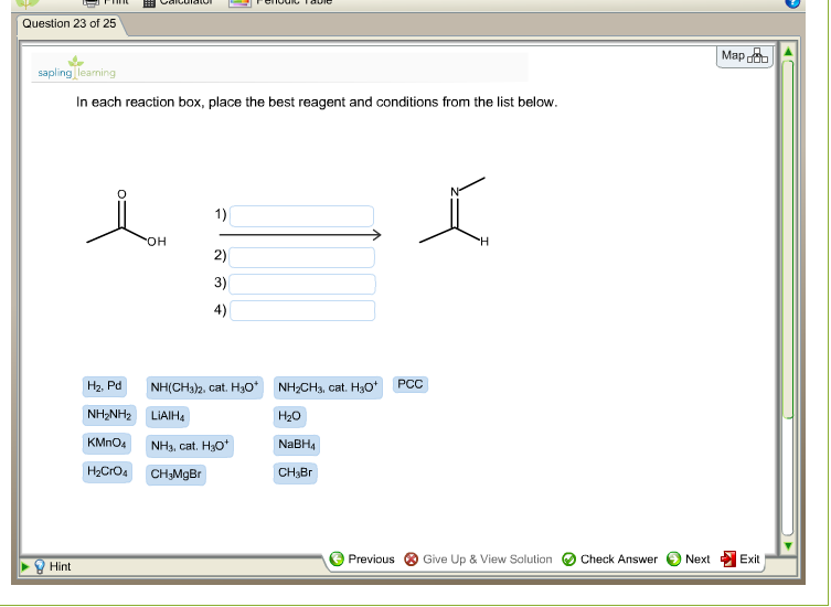 i need help and organic chemistry reagent q com best answer