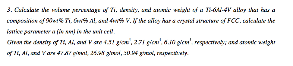 how to find weight percent of an alloy