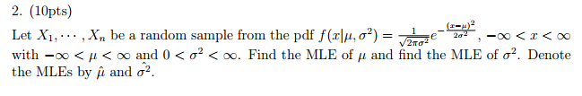 find e x from pdf