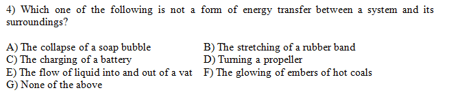 Which one of the following is not a form of energy
