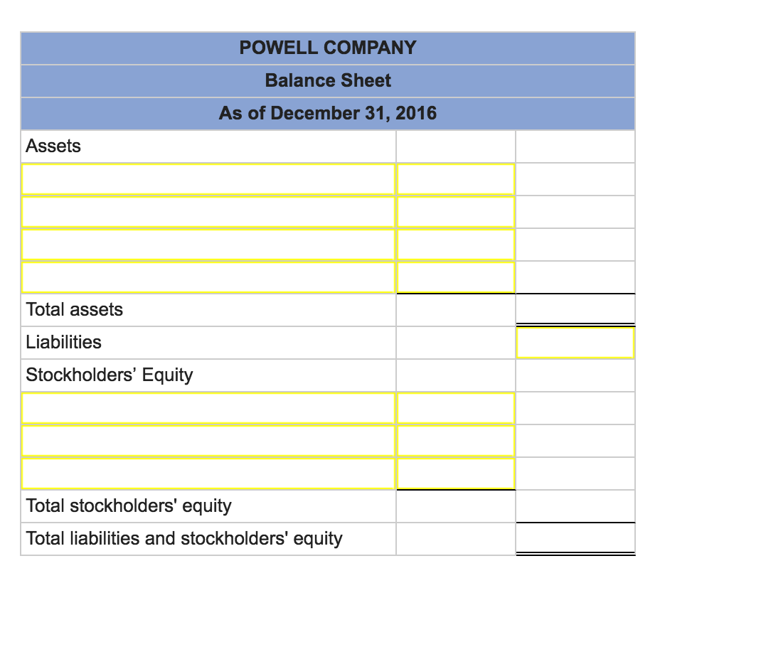 powell logistics inc View test prep - powell logistics inc (5) from business 2257 at western university powelllogisticsinc role: john powell, president and founder of powell logistics inc.