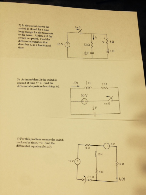 In the circuit shown the switch is closed for a t