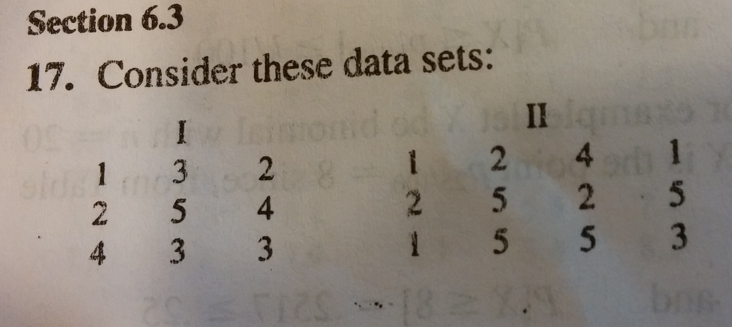 Consider these data sets find the sample mean and chegg question consider these data sets find the sample mean and sample median for each data set find the sa ccuart Gallery