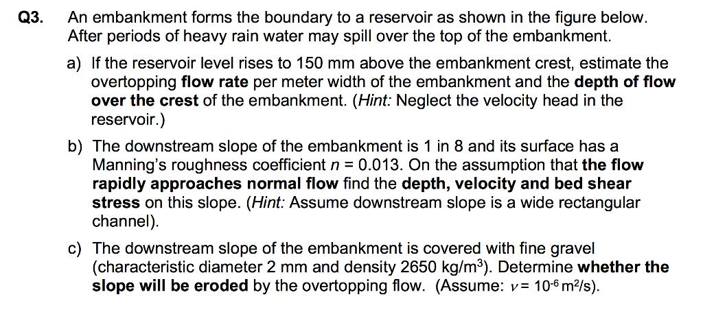 per meter slope