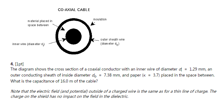 media%2F1f6%2F1f6310db 67ee 4c1f a4e9 6df195695751%2FphpO3i8Cm the diagram shows the cross section of a coaxial c chegg com the diagram shows the cross section of a wire carrying conventional positive current at nearapp.co