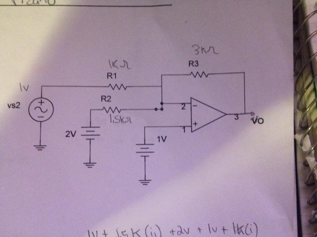 Determine and sketch the output voltage Vo for the