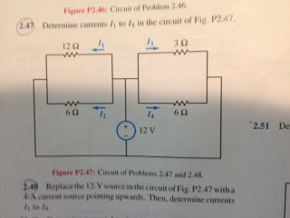 Figure P2.46: Circuit of Problem 2.46. Determine