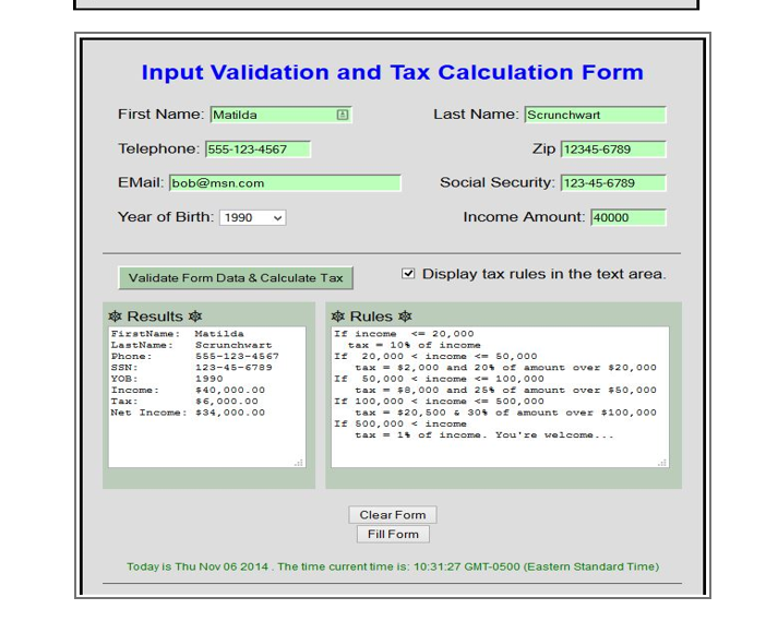msn tax calculator