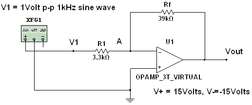 Assume that the OP AMP used in the circuit shown i