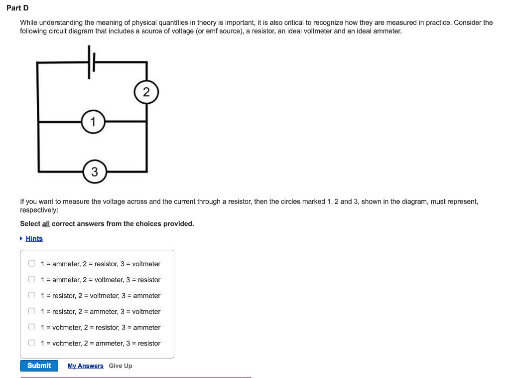 Solved: While Understanding The Meaning Of Physical Quanti ...