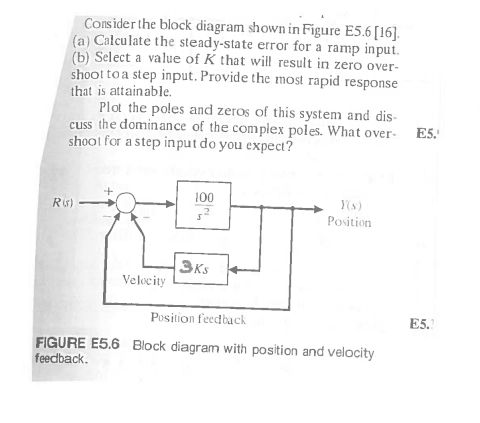 Solved consider the block diagram shown in figure e56 1 consider the block diagram shown in figure e56 1 ccuart Image collections