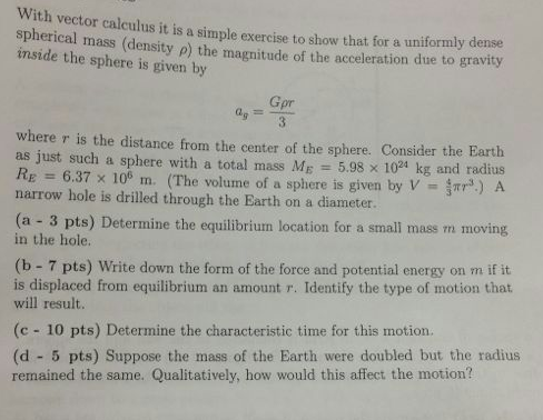With vector calculus it is a simple exercise to sh
