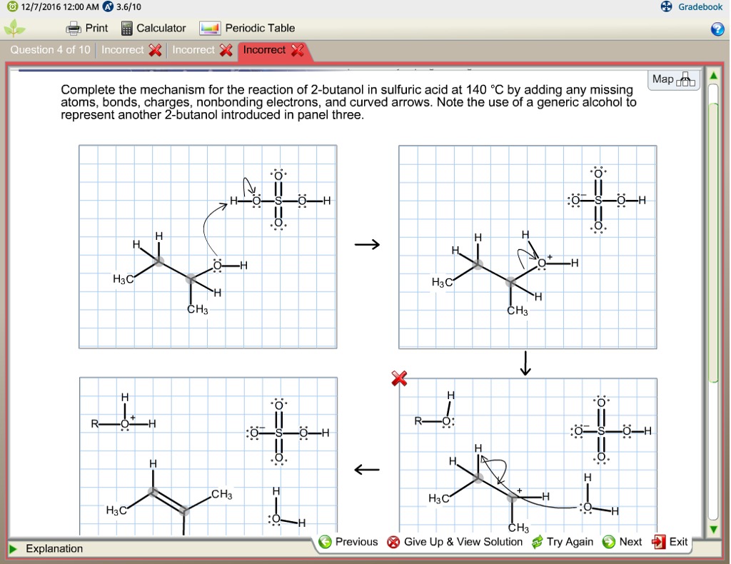 Complete the mechanism for the reaction of 2 butan chegg complete the mechanism for the reaction of 2 butan gamestrikefo Gallery