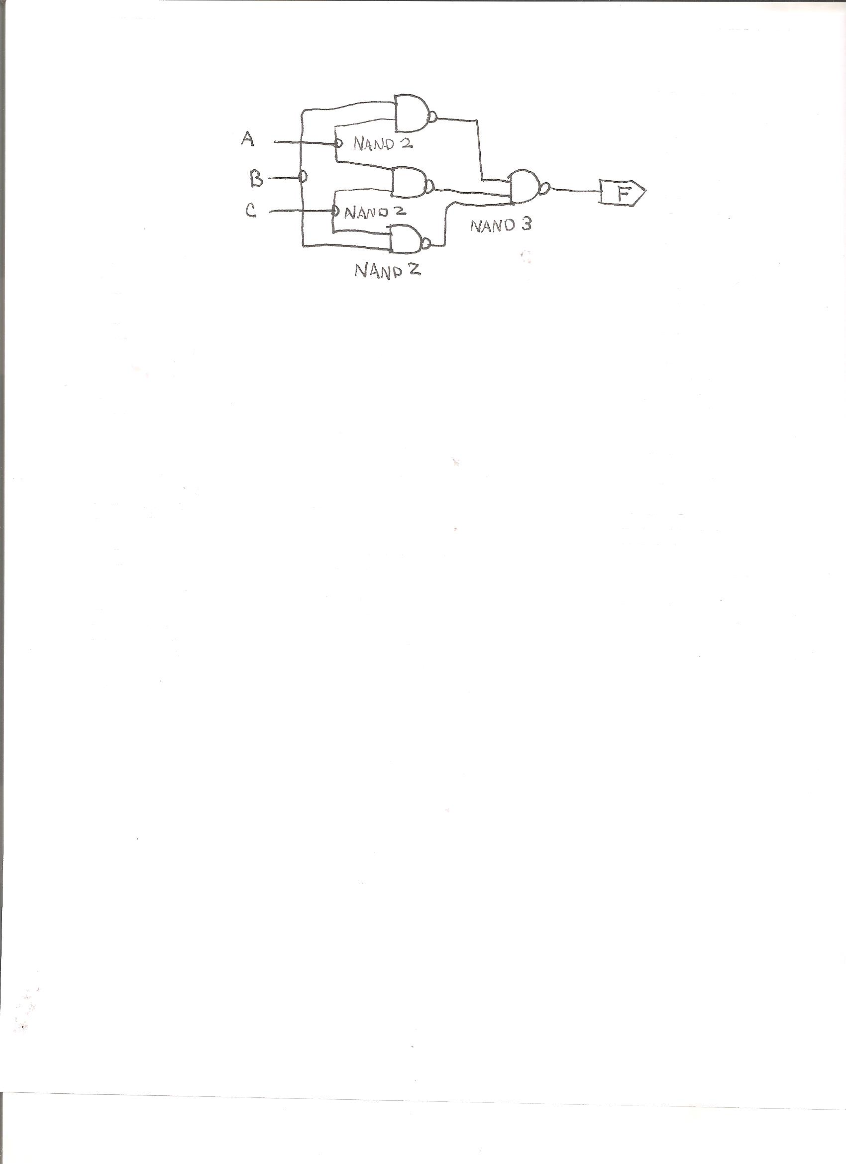 Given the following Logic Circuit Attached: a. Wr