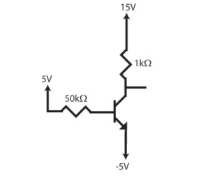 Solve the circuit below (i.e. find all the voltage