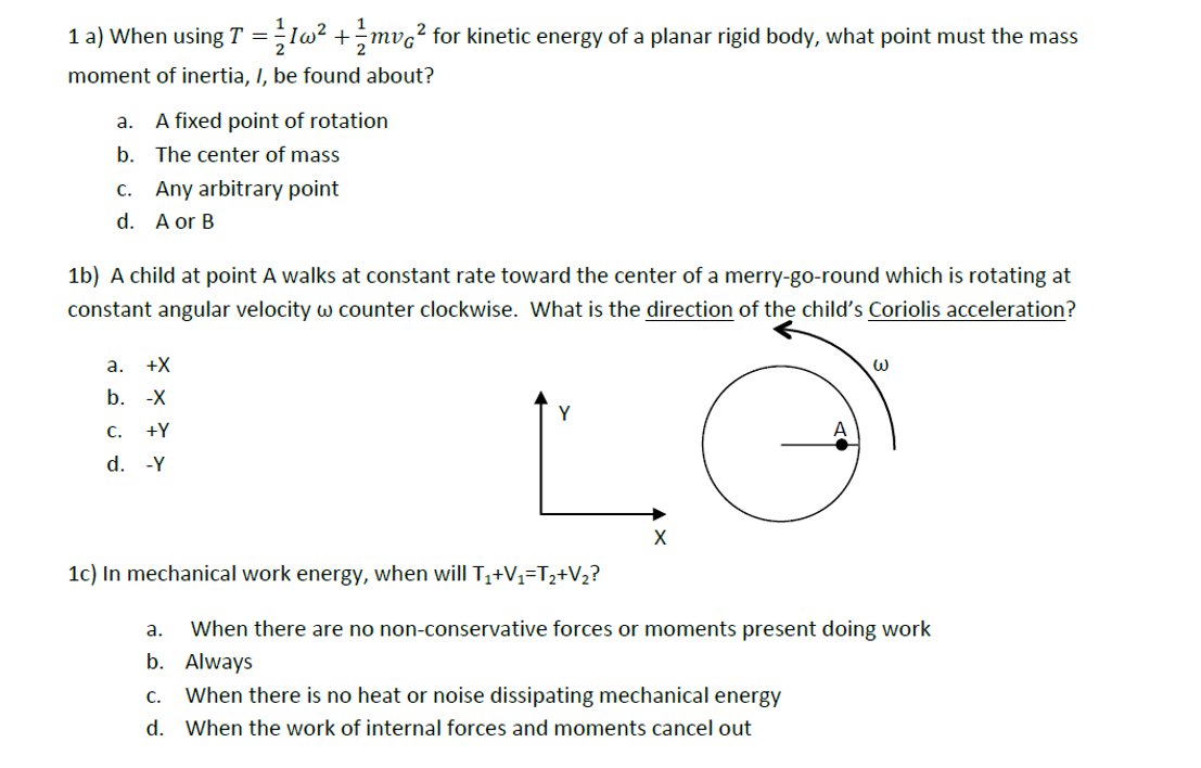 Kinetic energy homework help
