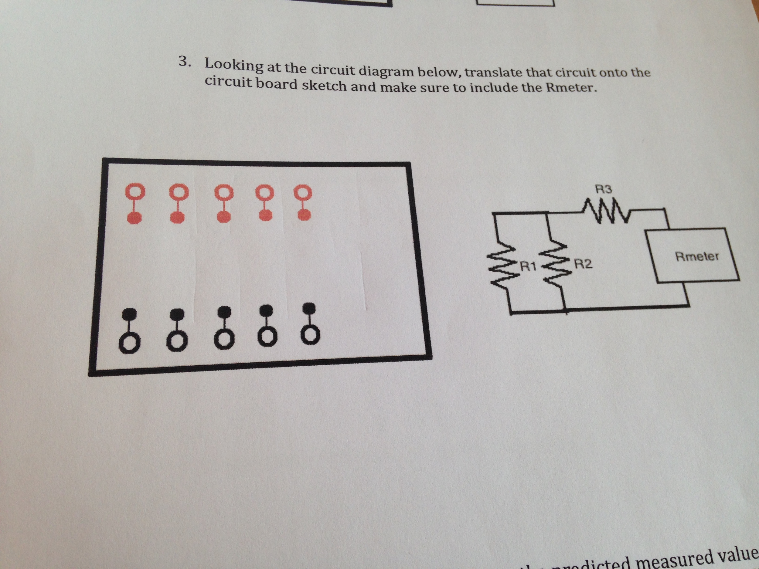 Translate That Circuit Onto The Circuit Board Sket Cheggcom - Circuit diagram make