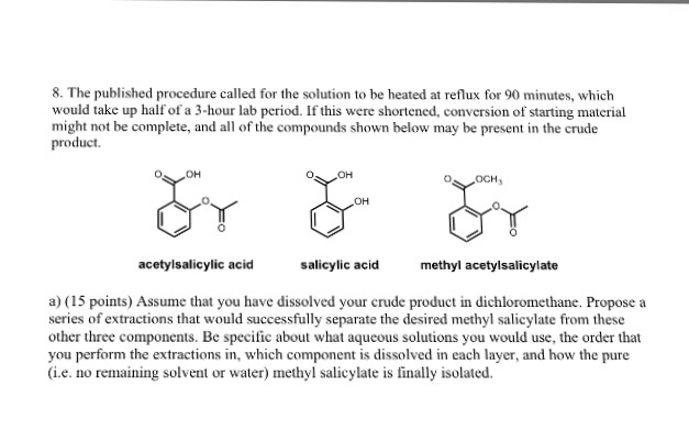 how to write a procedure for a solution chemistry