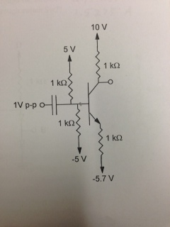 what is voltage at the base of the transistor? wh