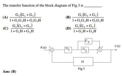 the transfer function of the block diagram of fig. | chegg, Block diagram