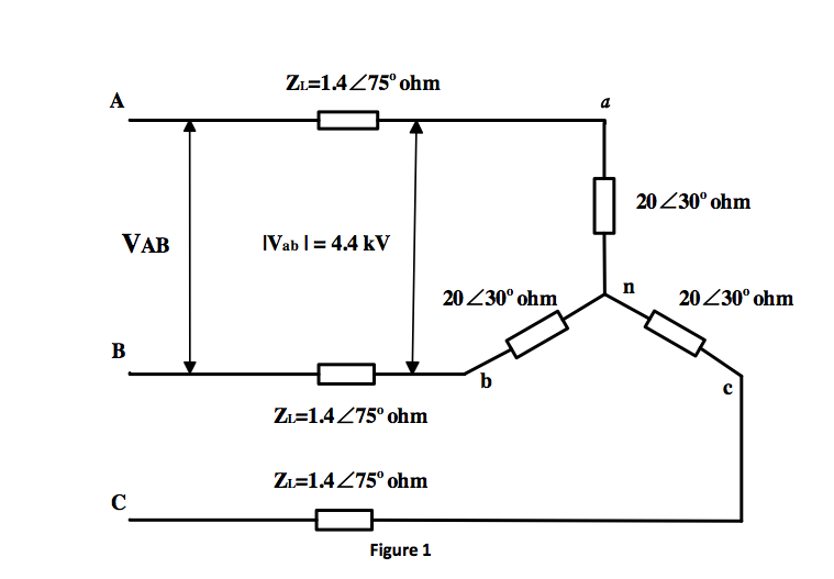 As shown in Figure 1, the terminal voltage of a Y-