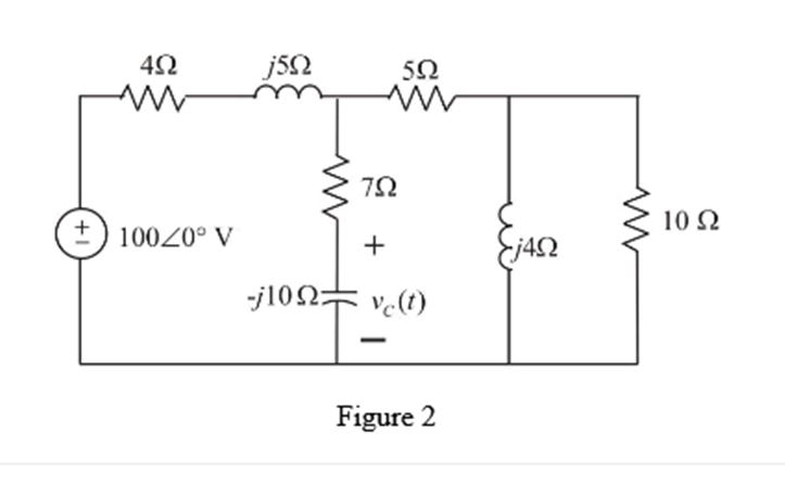 Solve the following circuit fo
