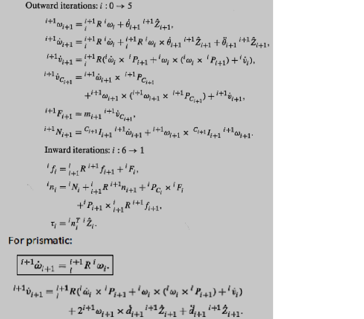 Compute The Closed-form Dynamic Equation (NOT Usin... | Chegg.com
