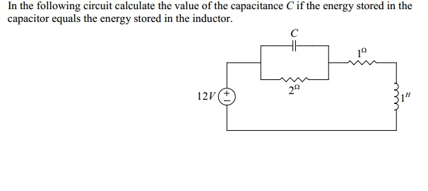 In the following circuit calculate the value of th