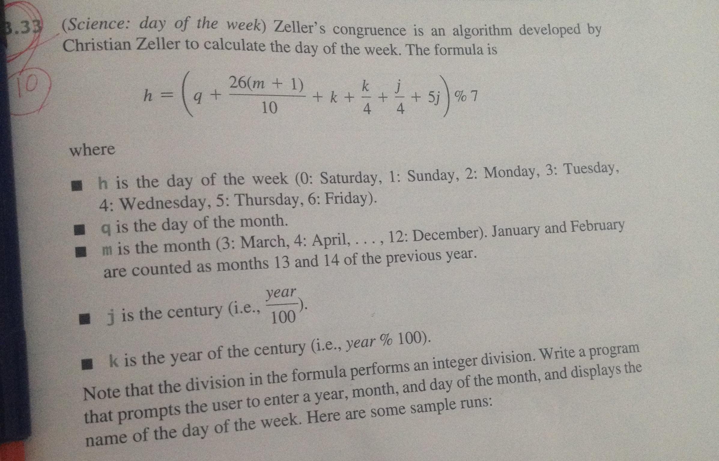 algorithme congruence