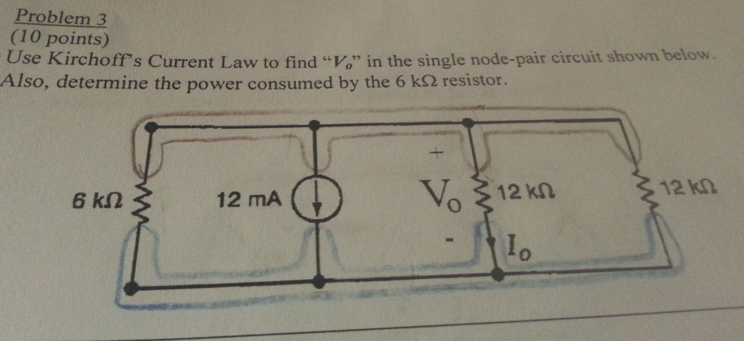 I'm really confused on how to use KCL on this circ