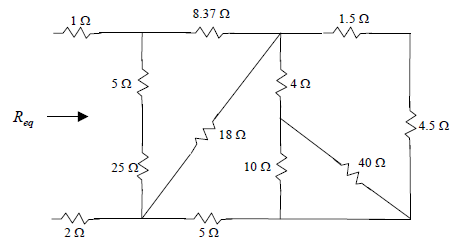 Reduce the circuit below to&nb