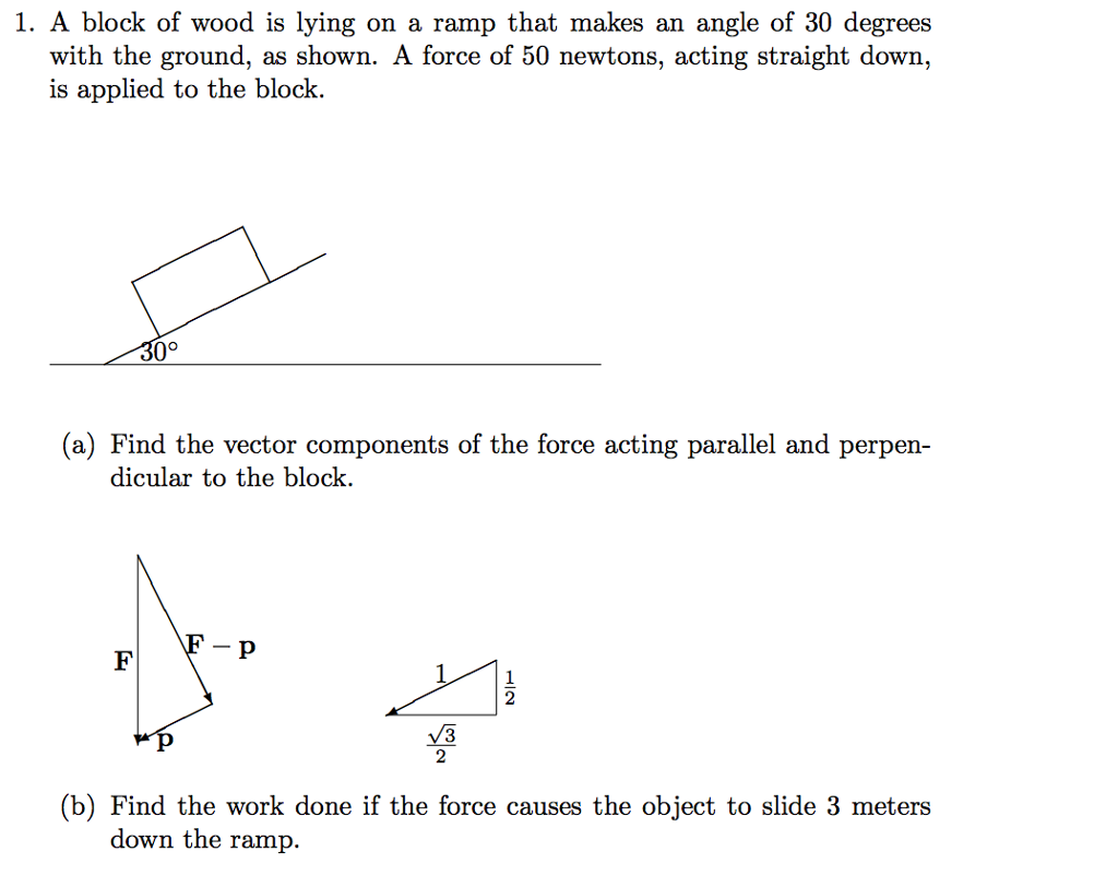 how to find angle of force