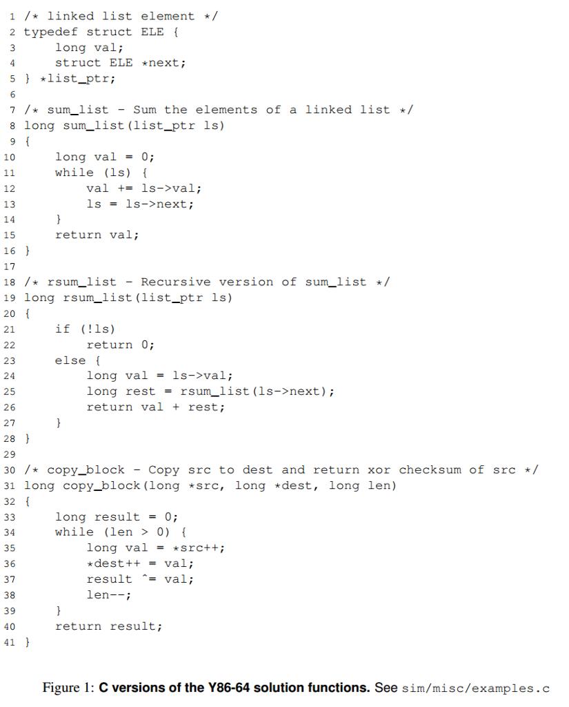 1 linked list element 2 typedef struct ele long val struct ele next 5