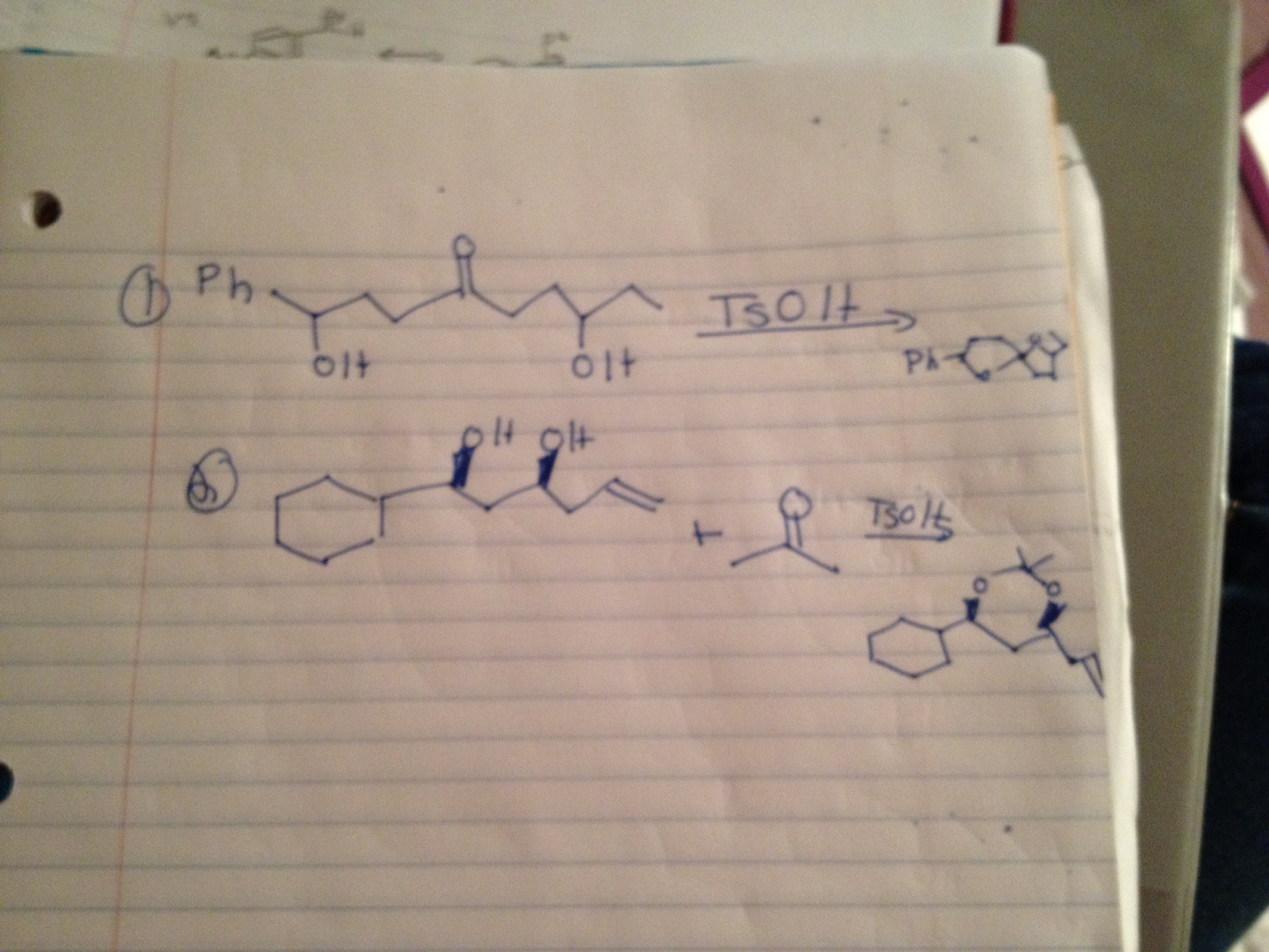 I'm very confused about these intramolecular react