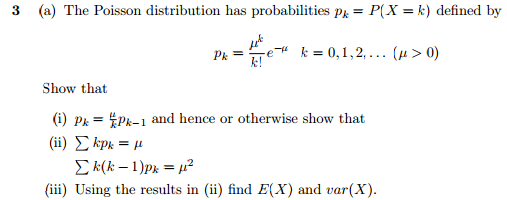 poisson distribution questions and answers pdf