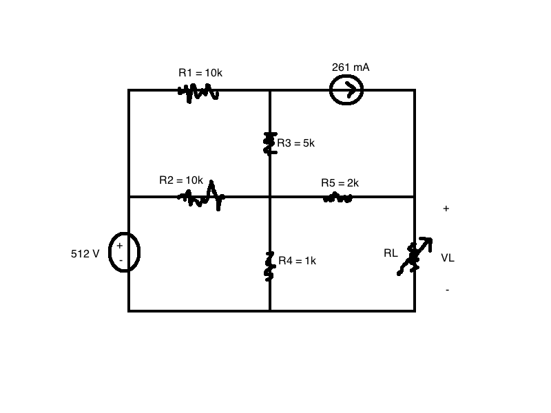 Analyze the circuit to determine the value of RL s