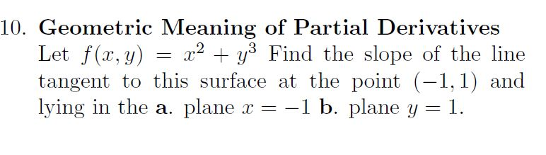 Geometric meaning of partial derivatives let fx chegg geometric meaning of partial derivatives let fx ccuart Choice Image