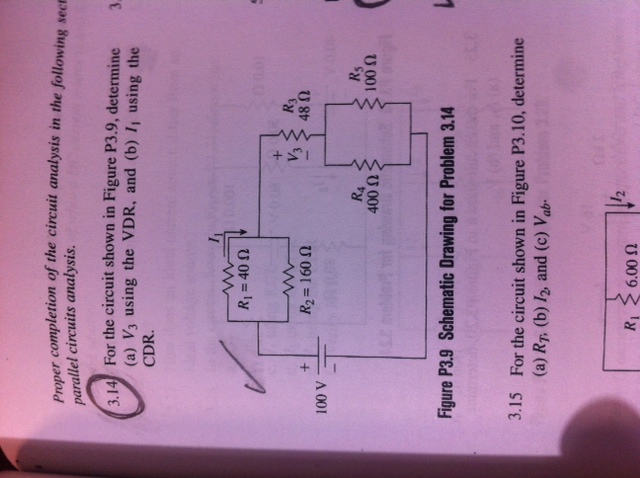 Proper completion of the circuit analysis in the f