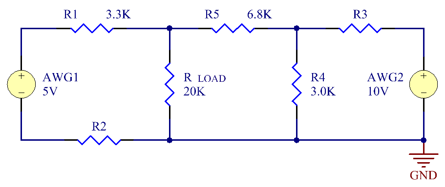 Find the voltage across RLOAD when R2 = 8.2k? and